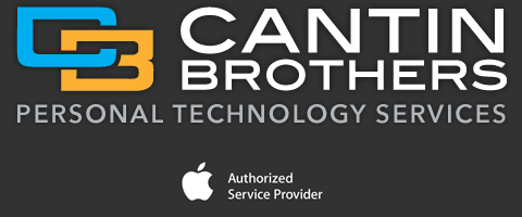 Cantin Brothers is an Apple Authorized Service Provider